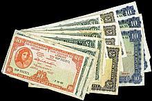 Irish Paper Money From Various Properties