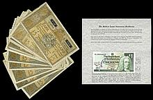 Scottish Paper Money From Various Properties