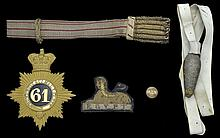 A Collection of Militaria to the Gloucestershire Regiment (28th and 61st Foot)
