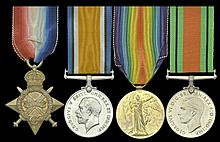 A Collection of Medals to the Manchester Regiment