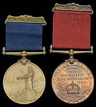 Long Service, Coronation and Jubilee Medals