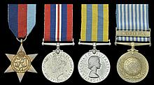 A Small Collection of Medals Relating To the 27th British Commonwealth Brigade In Korea