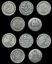 The Collection of Engraved Coins Formed By the Late Richard Law (Part Ii)