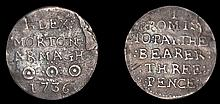 Irish Silver Coins and Tokens, 1649-1813, From the Collection of the Late Harrington Manville