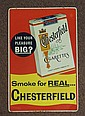 CHESTERFIELD CIGARETTE SIGN