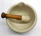LARGE MORTAR PESTLE