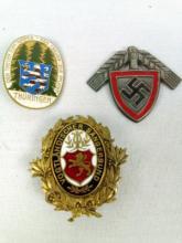 3 Various Misc. WWII German Awards
