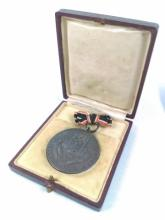 WWII Nazi Cased Labor Medal