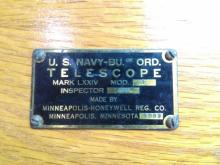 US Navy MK LXXIV Telescope