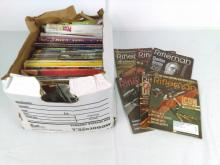 Military Collector Magazine Box Grouping