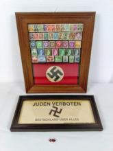 Nazi Stamps and Arm Band