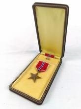 WWII US War Bronze Star Medal