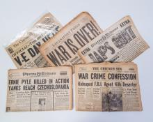 WWII Newspaper Grouping