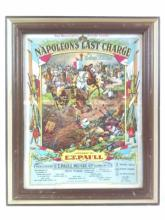 Napoleons Last Charge Sheet Music Cover