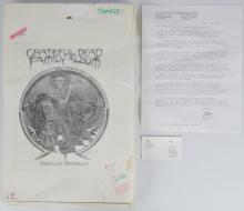Grateful Dead Family Album Book, Ramrod's Advanced Copy from Publisher