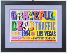 Grateful Dead Las Vegas Poster Signed, 1994