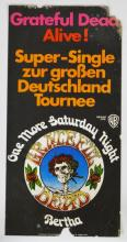 Rare and Unusual Grateful Dead_s German Release One More Saturday Record Company Promotional Poster