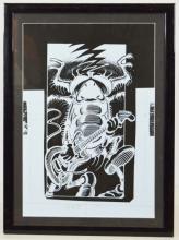 Rick Griffin Original Zap! Comic Scarab Beetle Production Film