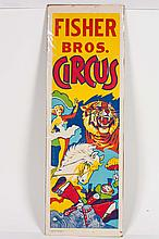 Fisher Bros. Circus Poster
