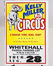 Kelly Miller Circus Poster
