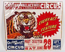 Cristiani-Wallace Bros. Poster
