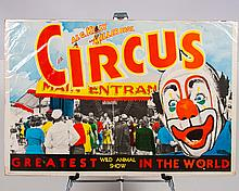 Al G. Kelly and Miller Bros. Circus Poster