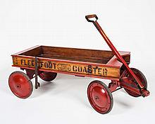 Wooden Coaster Wagon