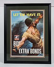 Let 'Em Have It WWII Bond Poster
