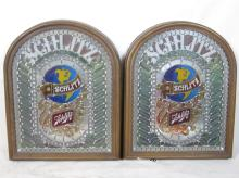 Two 1970's Schlitz Electric Beer Signs