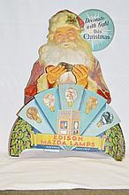 Rare Edison Santa Mazda Lamp Advertisement
