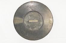 1927 Metal Victor Talking Machine Circular Sign