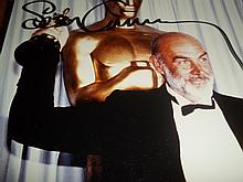 SEAN CONNERY AUTOGRAPHED PHOTO