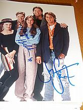 CAST OF BLOSSOM SIGNED PHOTO