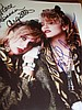 MADONNA AND ROSANNA ARQUETTE SIGNED PHOTO