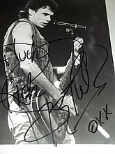 RICK SPRINGFIELD AUTOGRAPHED PHOTO
