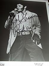 DEL SHANNON AUTOGRAPHED PHOTO
