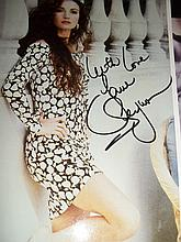 JANE SEYMOUR AUTOGRAPHED PHOTO