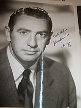 MACDONALD CAREY AUTOGRAPHED PHOTO