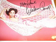 DIAHANNA CARROLL AUTOGRAPHED PHOTO