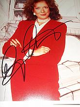 DIXIE CARTER AUTOGRAPHED PHOTO
