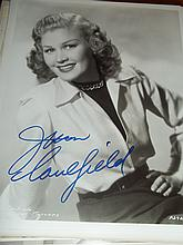 JEAN CAULFIELD AUTOGRAPHED PHOTO