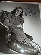 MARGUERITE CHAPMAN AUTOGRAPHED PHOTO