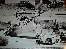 NATIONAL LAMPOONS VACATION CHEVY CHASE AUTOGRAPHED PHOTO