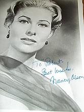 NANCY OLSEN AUTOGRAPHED PHOTO