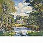 Wilfred Gabriel de Glehn British, 1870-1951 Palladian Bridge, Wilton Park, Wiltshire, England