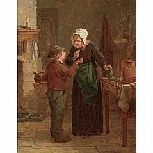 Charles F. Blauvelt American, 1824-1900 Delivery Boy