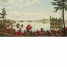 Levi Wells Prentice American, 1851-1935 Adirondack Lake