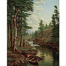 Levi Wells Prentice American, 1851-1935 The Adirondacks