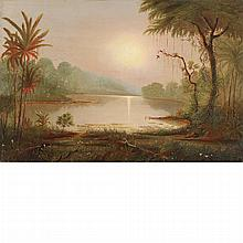 Attributed to Norton Bush Tropical Landscape