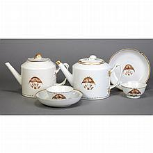 Assembled Chinese Export Porcelain Partial Tea Service